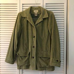 Corduroy LL Bean coat